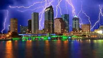 Tampa Bay Lightening Skyline
